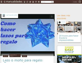 manualidades.facilisimo.com screenshot