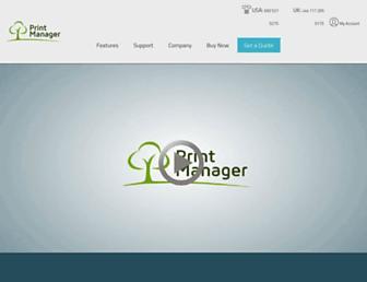 printmanager.com screenshot