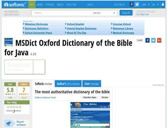 msdict-oxford-dictionary-of-the-bible.en.softonic.com screenshot