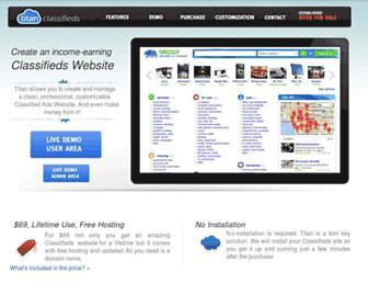titanclassifieds.com screenshot