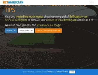 betmagician.com screenshot