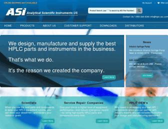 hplc-asi.com screenshot