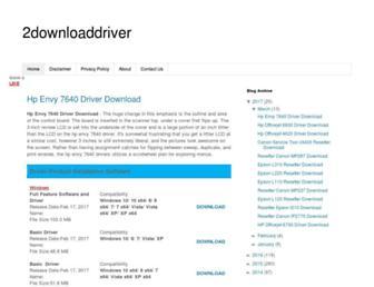 sevendriverdownload.blogspot.com screenshot