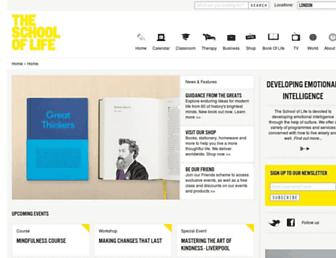 theschooloflife.com screenshot