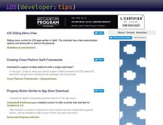 Thumbshot of Iphonedevelopertips.com