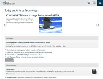 Thumbshot of Airforce-technology.com