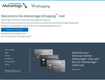 Thumbshot of Dividendmilesstorefront.com