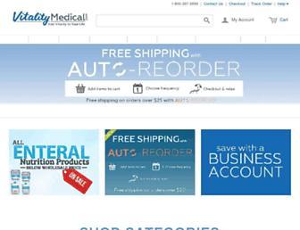 vitalitymedical.com screenshot