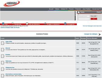 forum.universfreebox.com screenshot