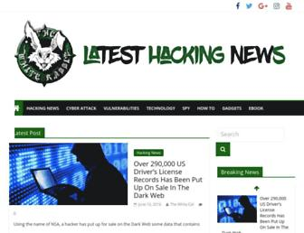Thumbshot of Latesthackingnews.com