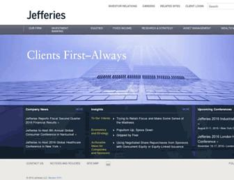 jefferies.com screenshot