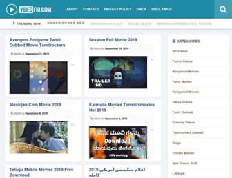videofio.com screenshot