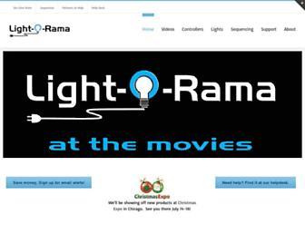 lightorama.com screenshot