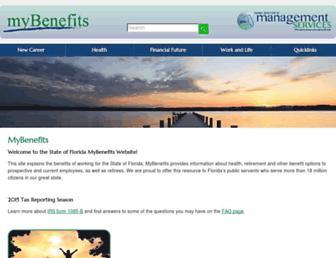 mybenefits.myflorida.com screenshot