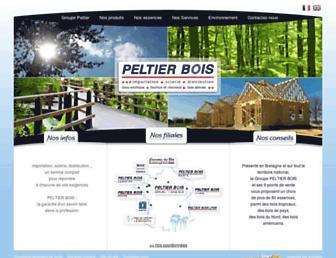 peltierbois.com screenshot