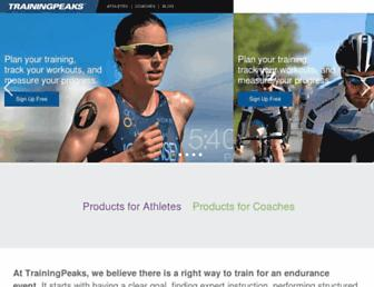 Thumbshot of Trainingpeaks.com