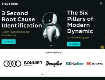 instana.com screenshot