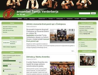 Thumbshot of Ansambel-tonija-verderberja.com