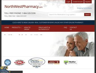 northwestpharmacy.com screenshot