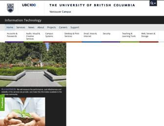 it.ubc.ca screenshot
