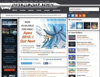 ocremix.org screenshot