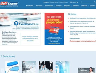 softexpert.es screenshot