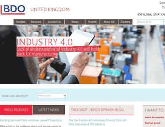 bdo.co.uk screenshot