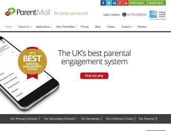 Thumbshot of Parentmail.co.uk