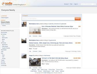 Thumbshot of Oodle.co.uk