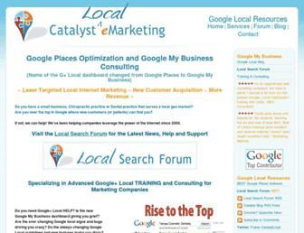 Thumbshot of Catalystemarketing.com