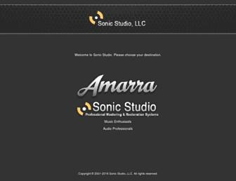 sonicstudio.com screenshot
