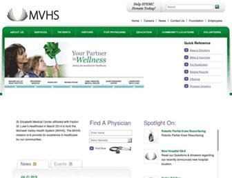 Main page screenshot of stemc.org