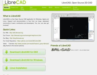 librecad.org screenshot