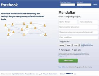 id-id.facebook.com screenshot