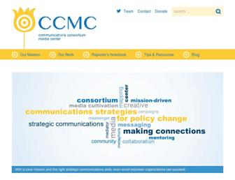 ccmc.org screenshot