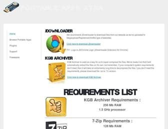 portableappsxtra.weebly.com screenshot