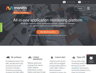 monitis.com screenshot