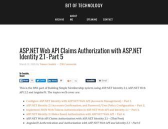 Thumbshot of Bitoftech.net