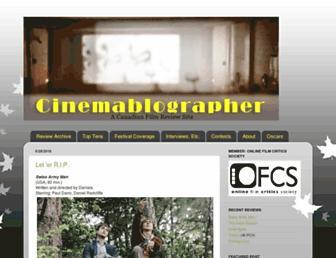 cinemablographer.com screenshot