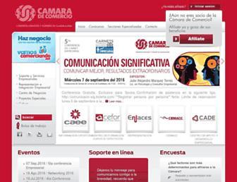 Thumbshot of Camaradecomerciogdl.mx