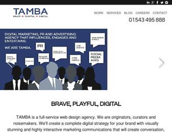 Thumbshot of Tamba.co.uk