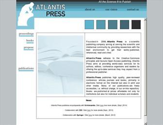 atlantis-press.com screenshot