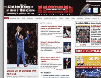 intlgymnast.com screenshot