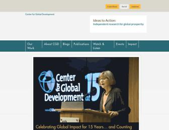 Thumbshot of Cgdev.org