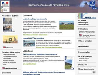 stac.aviation-civile.gouv.fr screenshot