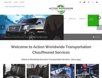 actionlimousines.com screenshot