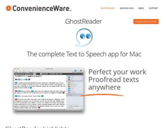 convenienceware.com screenshot