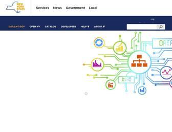 data.ny.gov screenshot