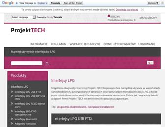 projekt-tech.pl screenshot