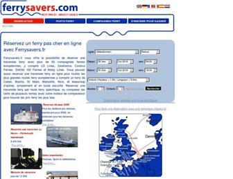 ferrysavers.fr screenshot
